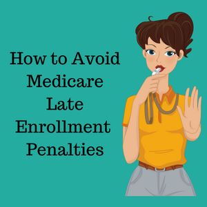 medicare late enrollment penalty