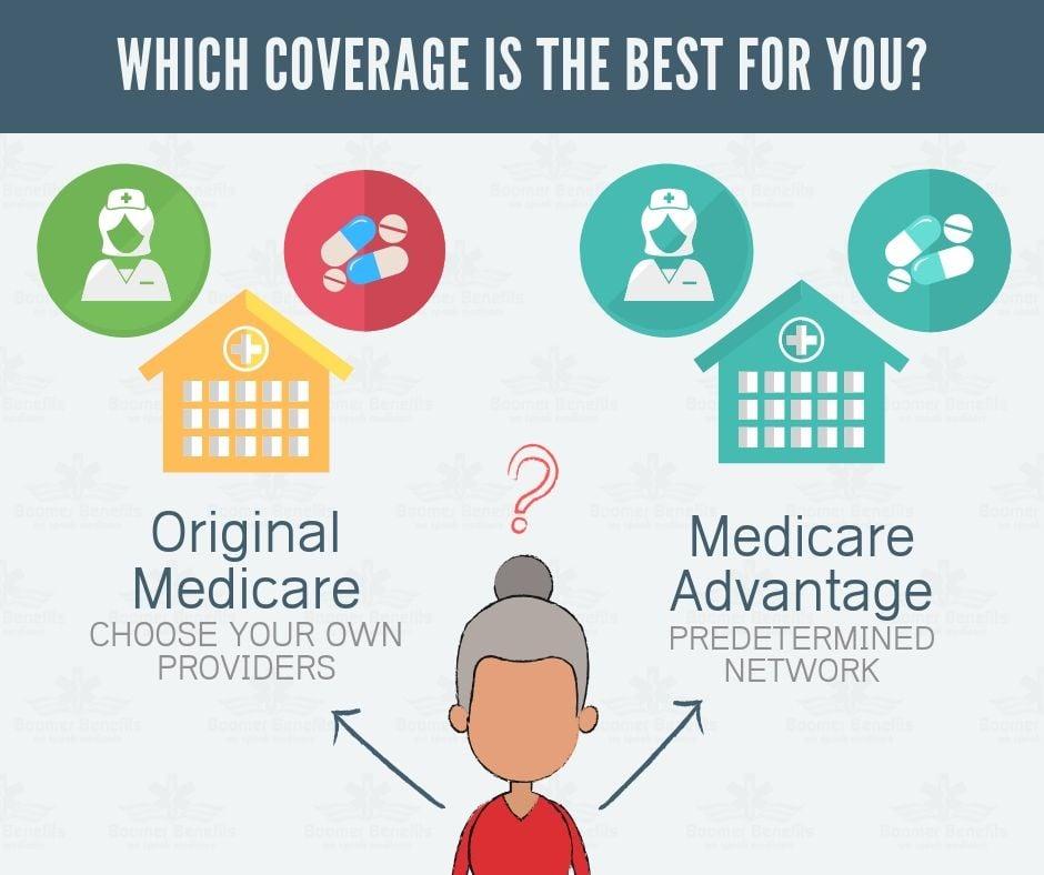 medicare advantage vs medicare